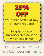 25% Off First Order